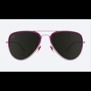 Blenders Eyewear Scarlet Sky polarized aviators
